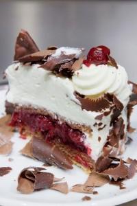 gâteau forêt noire du stube