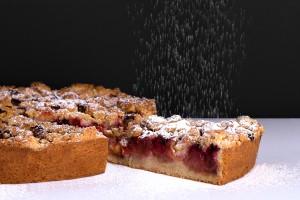tarte aux fruits et streusel du stube