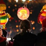 Tausende Laternen brennen bei Martinsfeier in Erfurt