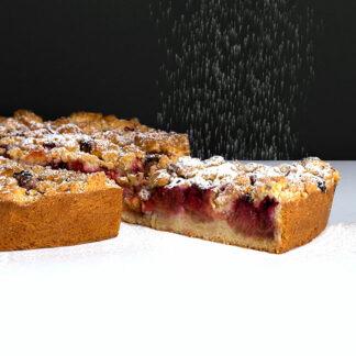 Tarte Rhubarbe / Pommes / Framboise