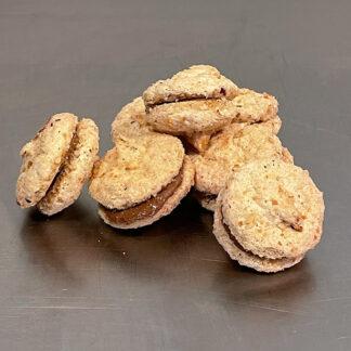 Duchesses macarons noisette praliné