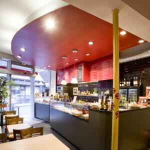 salle de restaurant du Stube