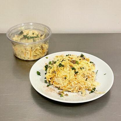 krauka salade de choux blanc, carottes, raisins
