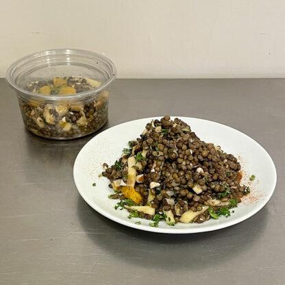 lisensalat salade de lentilles